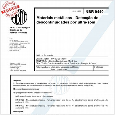 NBR9440 de 07/1986