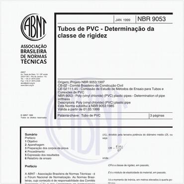 NBR9053 de 01/1999