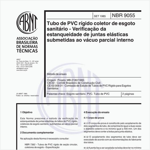 NBR9055 de 09/1985