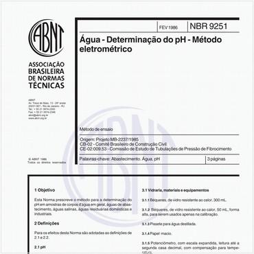 NBR9251 de 02/1986
