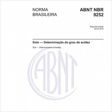 NBR9252 de 05/2016