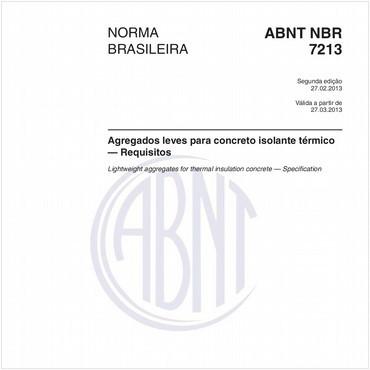 NBR7213 de 02/2013