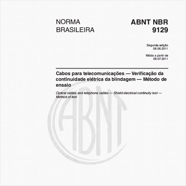 NBR9129 de 06/2011