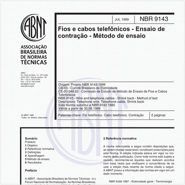 NBR9143 de 07/1999