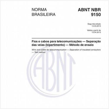 NBR9150 de 03/2013