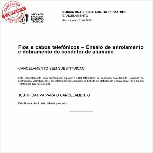NBR9151 de 09/2008