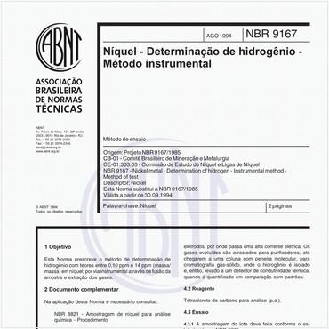 NBR9167 de 08/1994