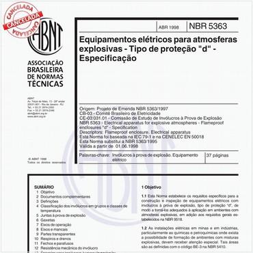 NBR5363 de 04/1998