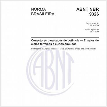 NBR9326 de 10/2014