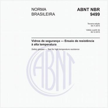 NBR9499 de 11/2015
