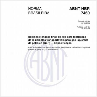 NBR7460 de 03/2013