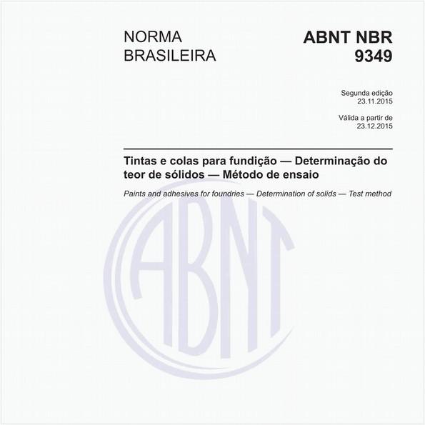 NBR9349 de 11/2015