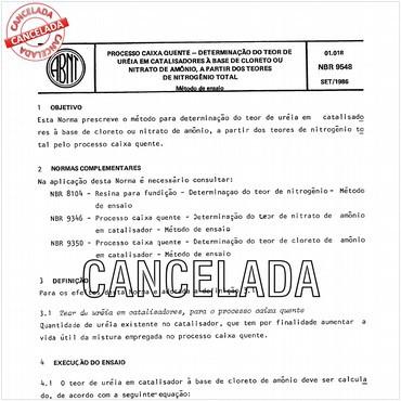 NBR9548 de 09/1986