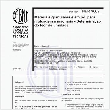 NBR9609 de 10/1994