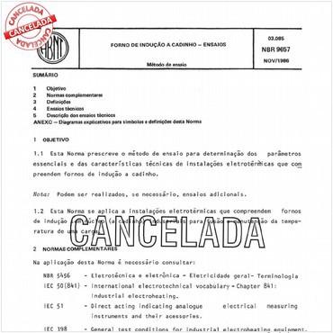 NBR9657 de 11/1986