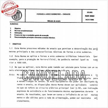 NBR9660 de 11/1986