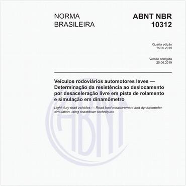 NBR10312 de 05/2019