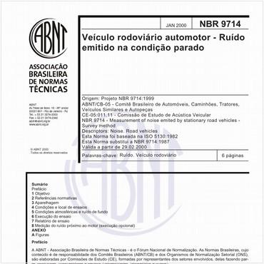 NBR9714 de 01/2000