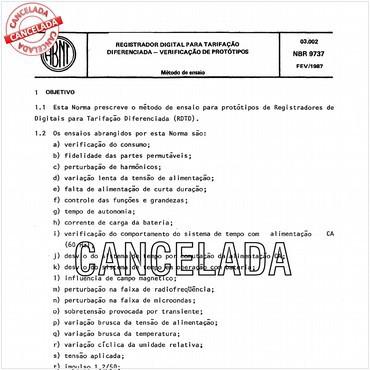 NBR9737 de 02/1987