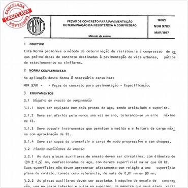 NBR9780 de 03/1987