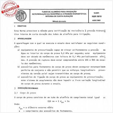 NBR9810 de 04/1987