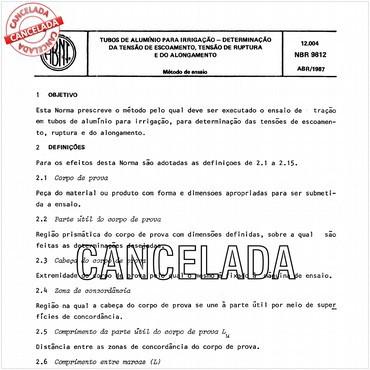NBR9812 de 04/1987