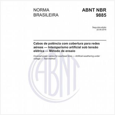 NBR9885 de 09/2016