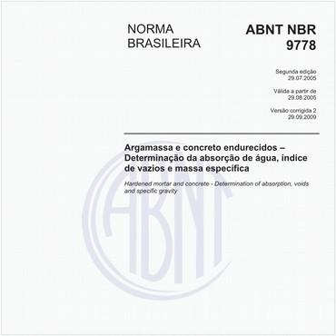 NBR9778 de 07/2005