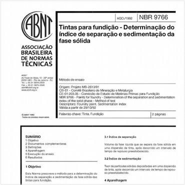NBR9766 de 08/1992