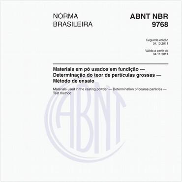 NBR9768 de 10/2011