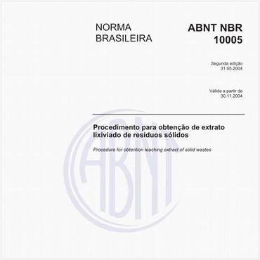 NBR10005 de 05/2004
