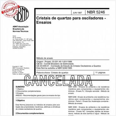 NBR5246 de 06/1987