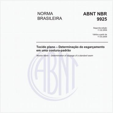 NBR9925 de 02/2009