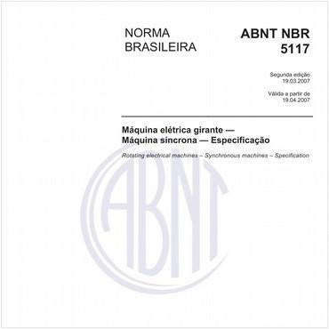 NBR5117 de 03/2007