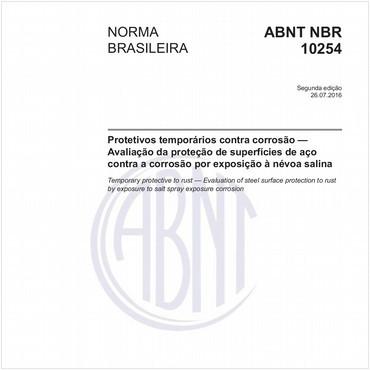 NBR10254 de 07/2016