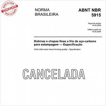NBR5915 de 04/2008