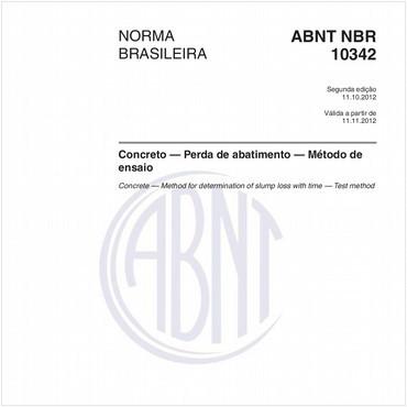 NBR10342 de 10/2012