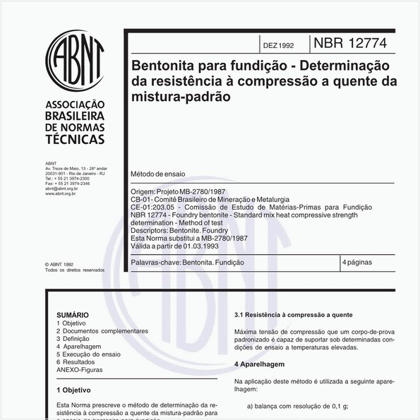 NBR12774 de 12/1992