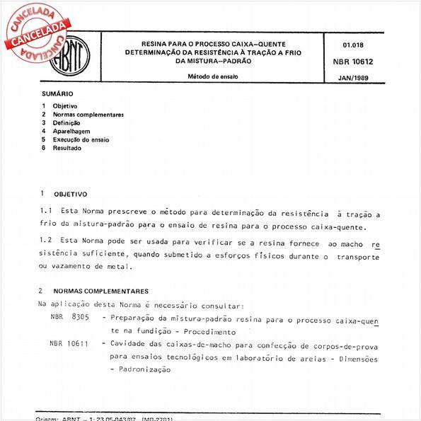 NBR10612 de 12/2014