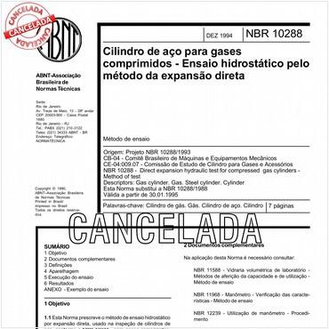 NBR10288 de 12/1994