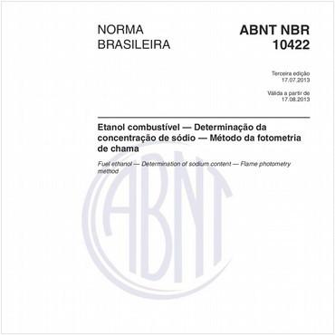 NBR10422 de 07/2013