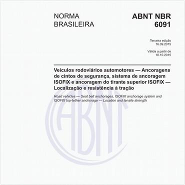 NBR6091 de 09/2015