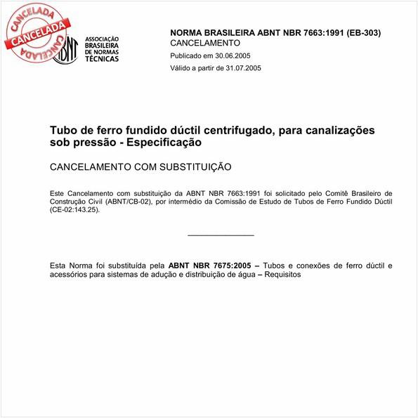 NBR7663 de 06/2005