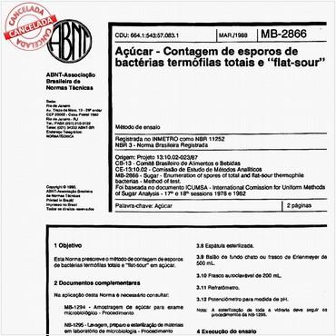 NBR11252 de 03/1988