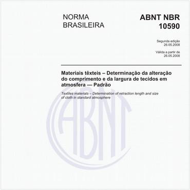 NBR10590 de 05/2008