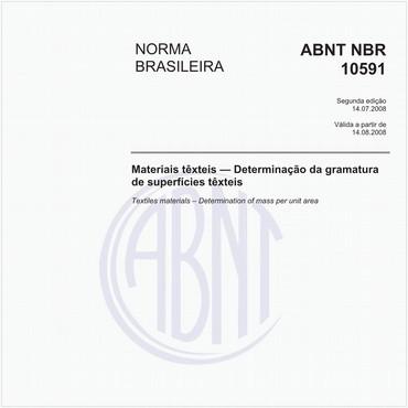 NBR10591 de 07/2008
