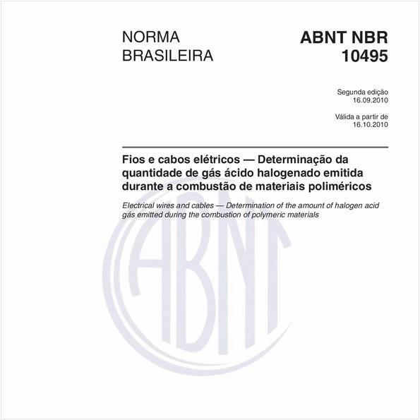 NBR10495 de 09/2010