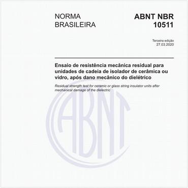 NBR10511 de 03/2020