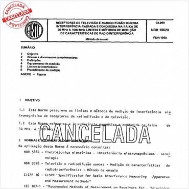 NBR10620 de 02/1989