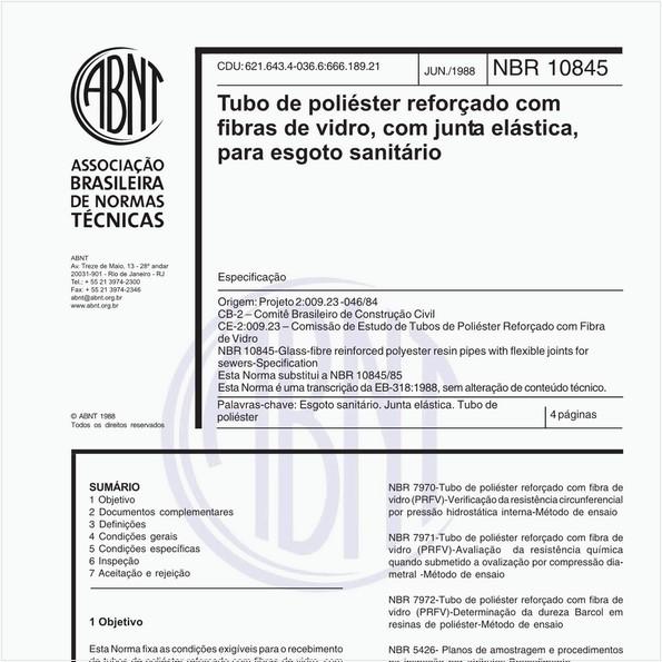 NBR10845 de 06/1988